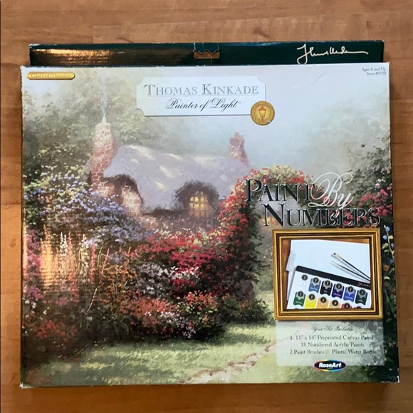 Thomas Kinkade Paint by Numbers Glory of Morning